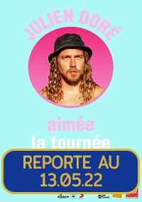 Julien Doré  Samedi 6 Novembre 2021 – 20h