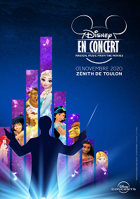 Disney en concert  Vendredi 8 Octobre 2021 – 20h