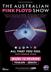 The Australian Pink Floyd  Jeudi 10 Février 2022 – 20h